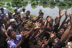 Støtt flom ofrene i Pakistan