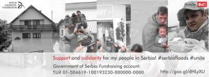 Hjelp til flomofre i Serbia!