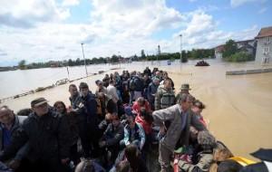 Flomkatastrofen i Serbia