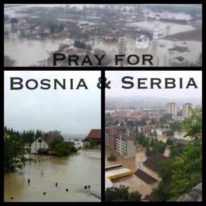 Serbia og Bosnia trenger din hjelp!