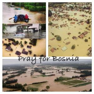 Flomkatastrofen i Bosnia