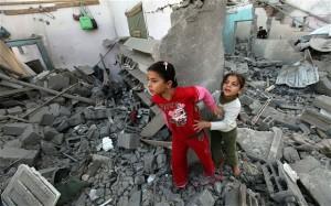 Hjelp befolkningen i Gaza!