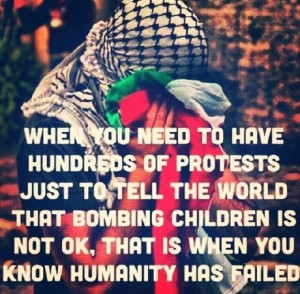 Humanitær hjelp til Gazas befolkning