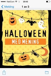 Halloween med Mening, Son