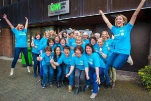 KIWI Servicekontor løper Jentebølgen for UNICEF!