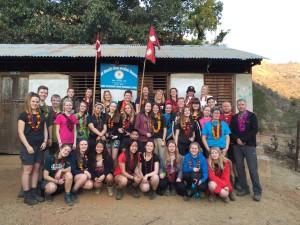 Ranum Efterskole samler ind til Nepal
