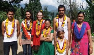 Min nepalesiske familie - Støt Nepal efter jordskælvet
