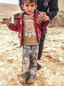 25 og 70 års jubileum - penger til Redd Barnas arbeid for syriske barn