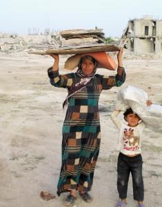 Gi 1 % av feriepengene til nødhjelpsarbeid i Syria