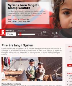 Indsamling til Syrien