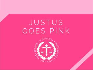 Justus goes pink