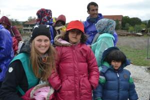 Vinterpakker til flyktninger til jul