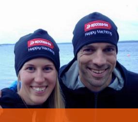 Team apotea.se swimrun-insamling