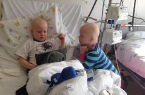 Marte og Henrik - til forskning på barnekreft