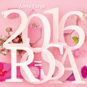 Fargerike og Årets Farge 2016 støtter Rosa sløyfe