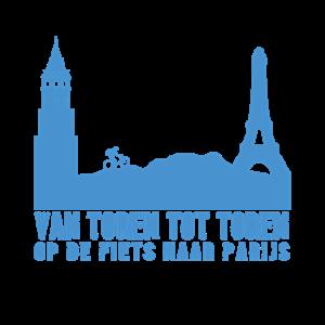 Op de fiets naar Parijs