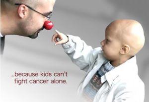 Donasjon til barnekreft foreningen