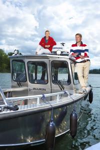 ALUKIN aluminiumbåtars insamling för världshaven