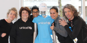 Team UNICEF loopt de CPC