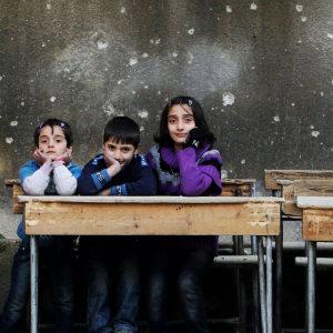 Beskyt krigens børn