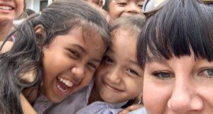 Toves och Jockes insamling till barnen i Kambodja