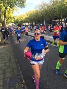 Mrs Driessen Runs The Amsterdam Marathon (15/10/17)