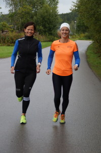 Kaja og Marit løper New York maraton 2017 for AKTIV MOT KREFT