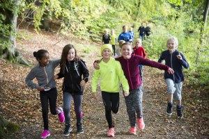 Skovlyskolen løber for børn