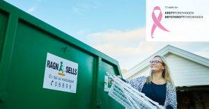 Ragn-Sells AS innsamlingsaksjon Rosa sløyfe