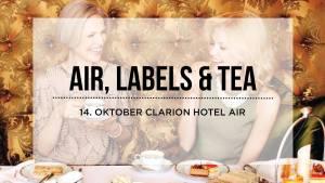 Air, labels & Tea - Rosa sløyfe aksjon!
