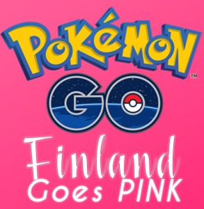 Pokemon Go Finland Goes Pink
