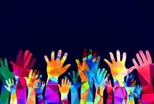 Hands up - hyväntekeväisyys flashmob!