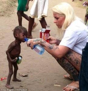 Ønsker DU underernærede børn? Nej, så hjælp her