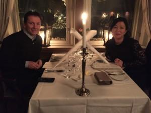 Kine og Roger sitt bryllup.