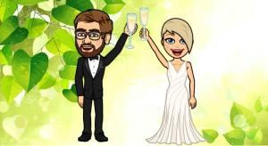 Vi gifter oss!