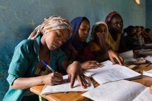 Ja til utdanning for kvinner!