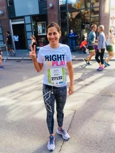 Britta is running again - the OSLO Half Marathon
