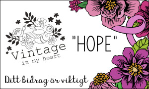 Vintage in my heart insamling - Tyget Hope