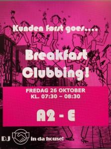 Storebrand Kunden Først Breakfast Clubbing