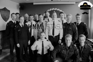 Sjøkadettene samler inn penger til Blå Sløyfe