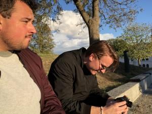 UTFORDRINGEN: Hopp i havet og bli blå for Blå Sløy