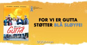 Innsamling: For vi er gutta som støtter Blå Sløyfe
