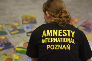 Amnesty Poznań zbiera na znaczki! #Write4Rights