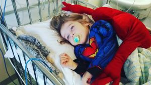 Pienen pojan elämää-blogin apu sairaalaklovneille