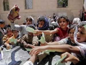 Barnen i Jemen