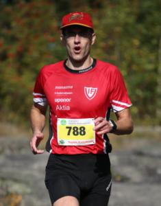 Anders springer för livet