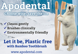 Apodental: Let it be, Plastic free