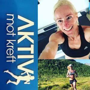 """""""RUN FOR A REASON"""" Lisbeth løper New York Maraton for Aktiv Mot Kreft"""