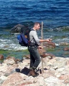 En fot på land och en i havet - Rädda Östersjön