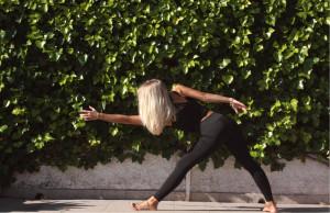 Yoga med naturen